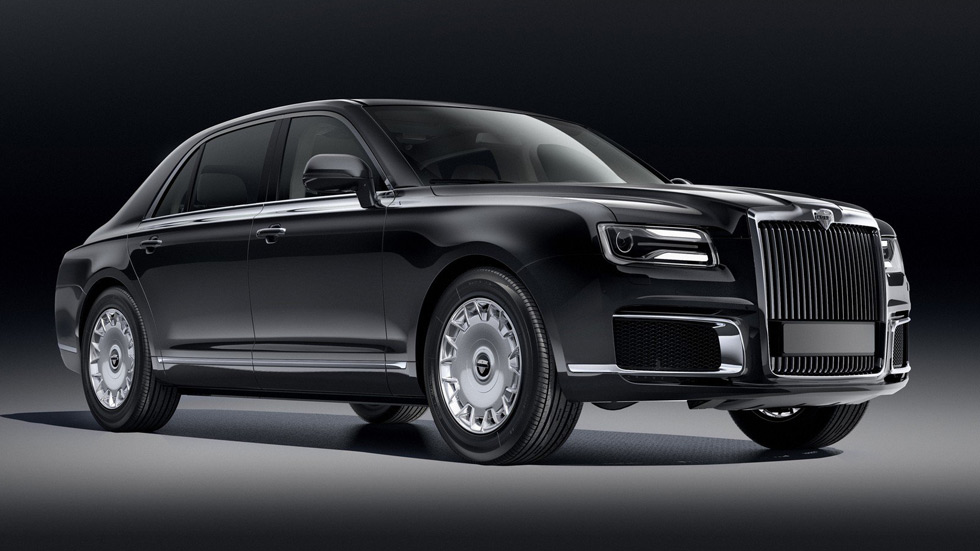 Aurus Senat o el Rolls ruso: así es la versión civil del coche de Putin