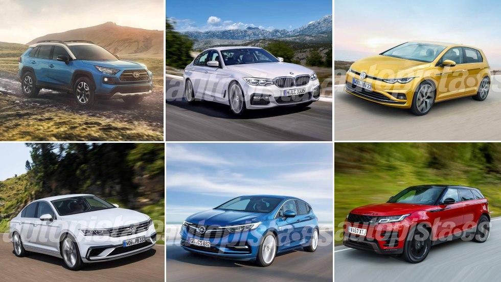 Las mejores novedades de 2019: 208, Golf, Clio, RAV4, Astra, Passat, A3…