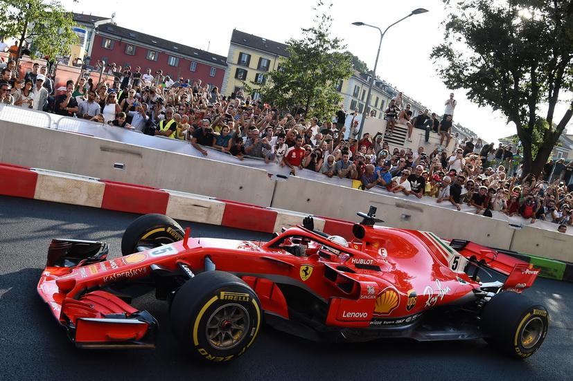 """GP de Italia: """"queremos más que un podio"""", pide Vettel"""