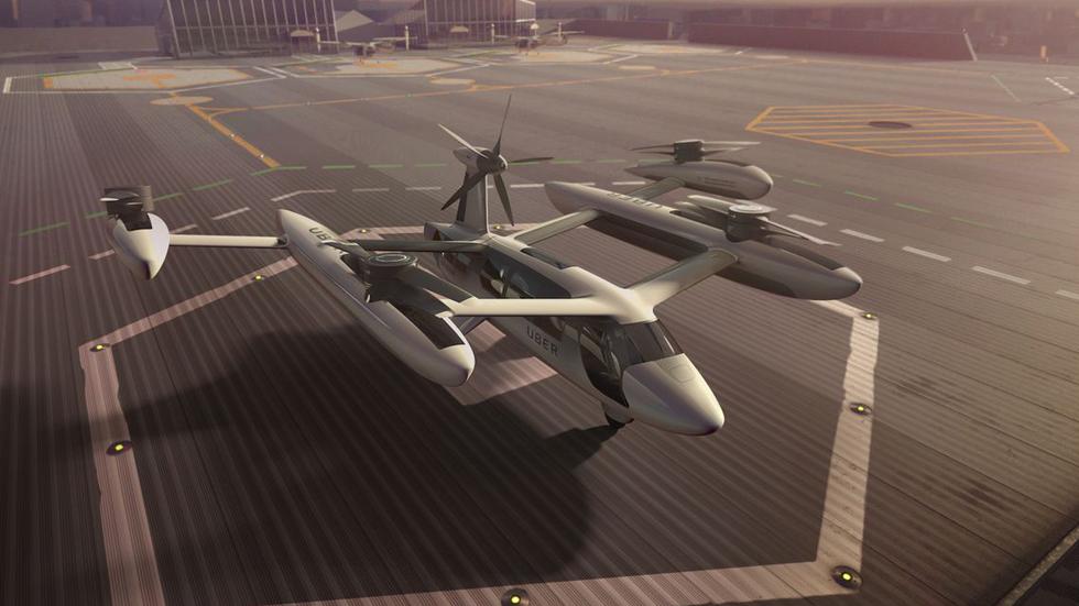 Uber Air: el servicio de coches voladores que recorrerá el mundo