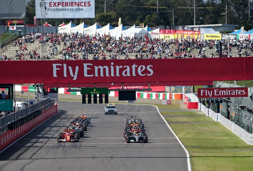 El GP de Japón renueva su contrato con la F1