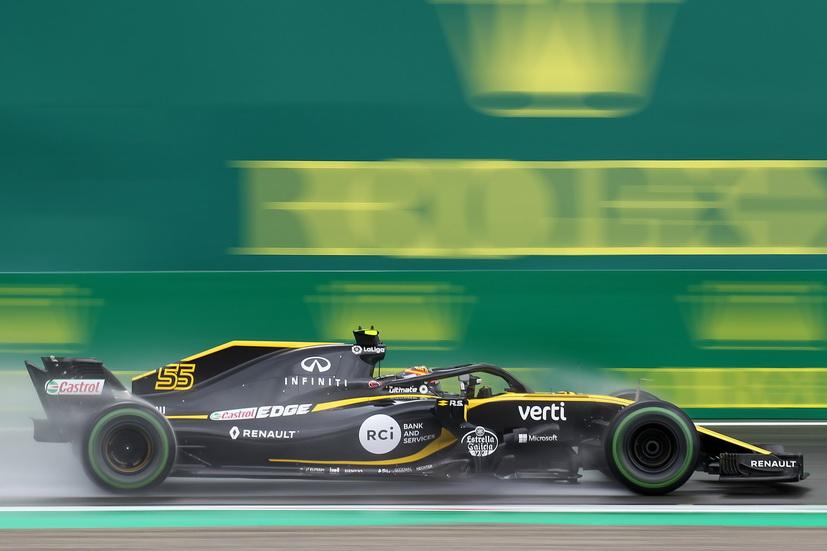 GP de Italia: Sainz lo hizo muy bien bajo la lluvia, pero fue algo peor en seco