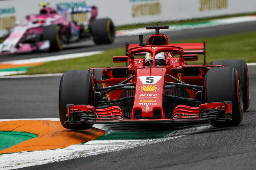 """GP de Italia (FP3): Vettel fue el más rápido """"en casa"""""""
