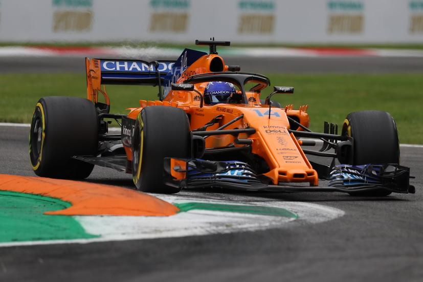 """GP de Italia: Alonso reconoce que """"salir el 13º es una gran noticia"""""""
