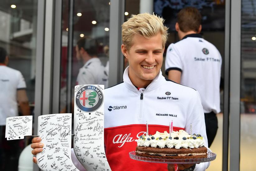 GP de Italia: Marcus Ericsson cumple 28 años
