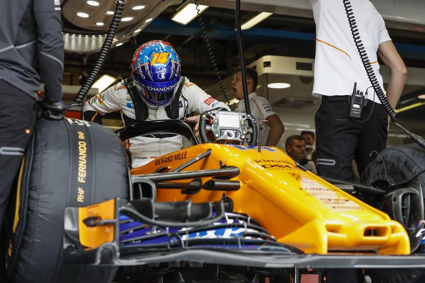 """GP de Italia: """"Aparte de estos dos ceros vienen más"""", comenta Alonso tras su abandono"""