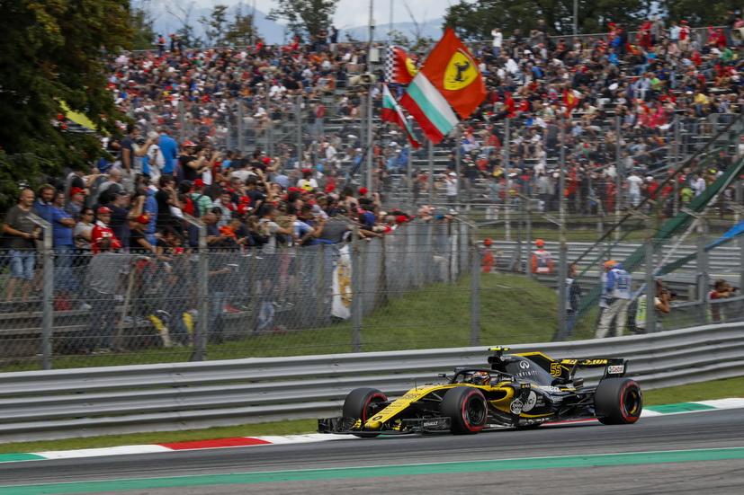 "GP de Italia: ""buen domingo y buen fin de semana"" para Sainz"