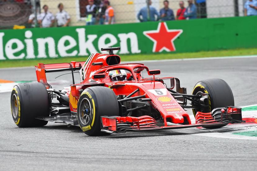 """GP de Italia: el """"toque"""" entre Hamilton y Vettel no fue sancionado"""