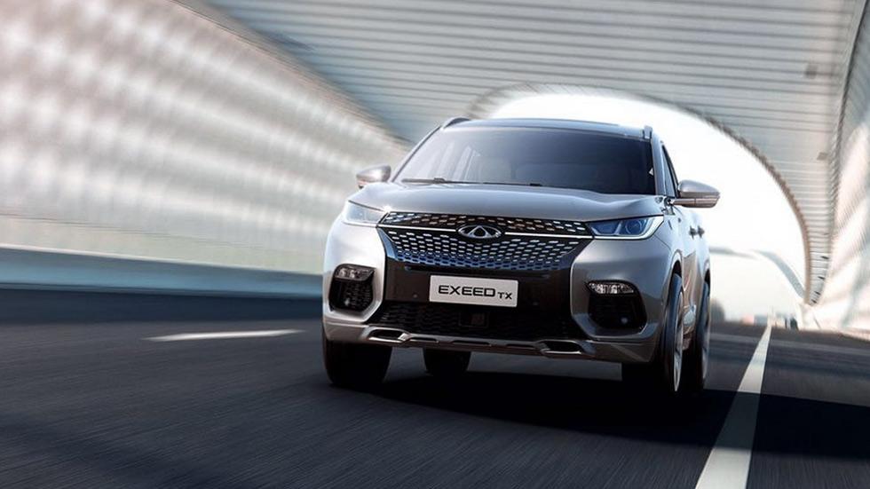 Chery Exeed TX 2020: el SUV chino híbrido enchufable llegará a Europa