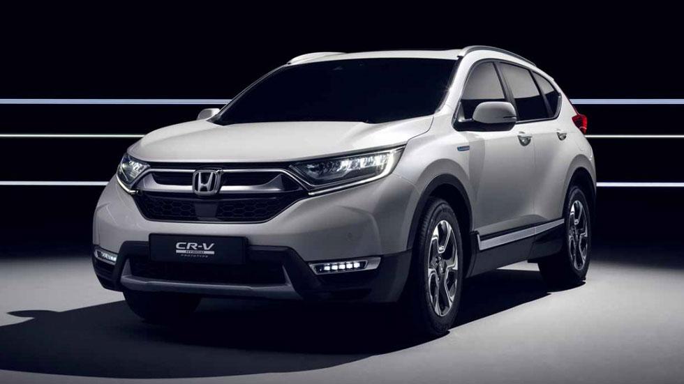 Honda CR-V 2019: la versión híbrida del SUV llega a inicios de 2019