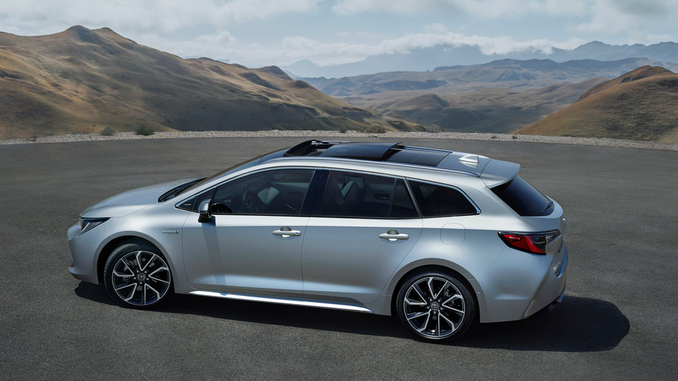 Toyota Corolla Hybrid Touring Sports, el sustituto del Auris familiar