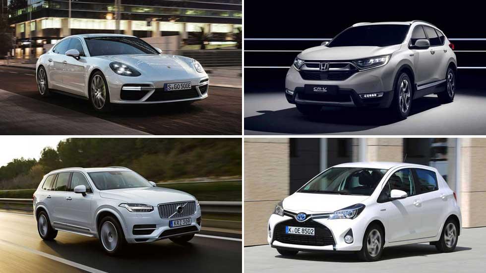 Todos los coches híbridos del mercado