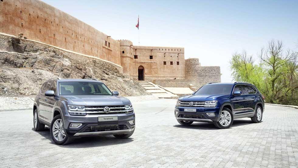 Volkswagen Teramont: así es el nuevo SUV de siete plazas