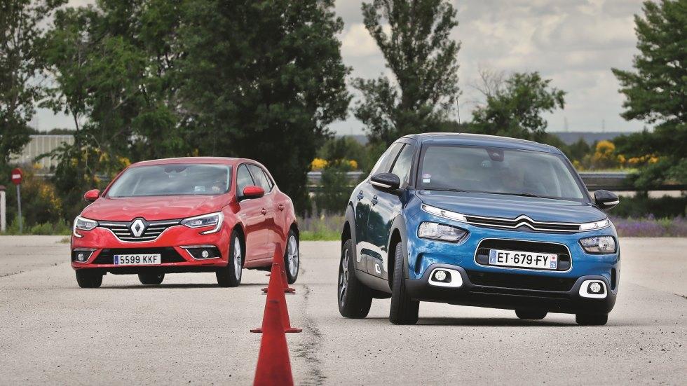 Citroën C4 Cactus vs Renault Mégane: ¿qué compacto de gasolina es mejor?
