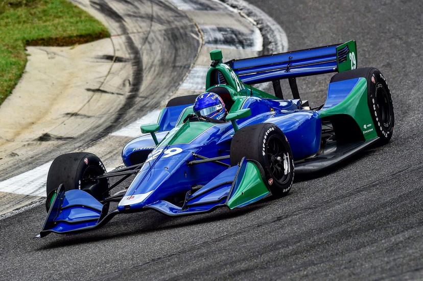 """""""Me apasiona probar coches nuevos"""", dijo Alonso tras el test con el IndyCar"""