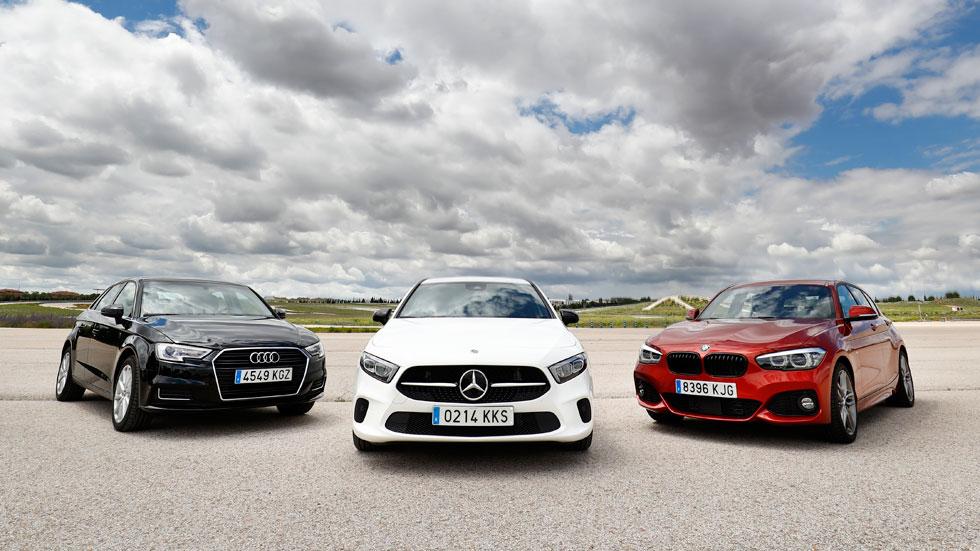 Audi A3, BMW Serie 1 y Mercedes Clase A: ¿qué compacto Diesel es mejor?