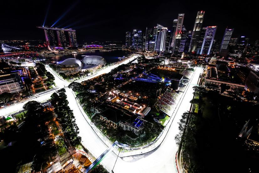 Circuito F1 Singapur : Gp de singapur la f comienza su recta final fórmula