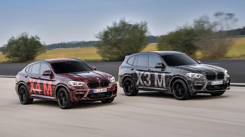 Nuevos BMW X3 M y X4 M 2019: nuevo motor para los SUV deportivos
