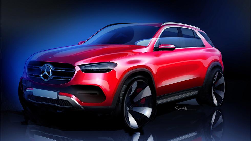Mercedes GLE 2019: vídeo, foto y primeros datos del nuevo gran SUV