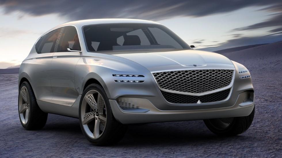 Genesis lanzará dos SUV en los próximos dos años