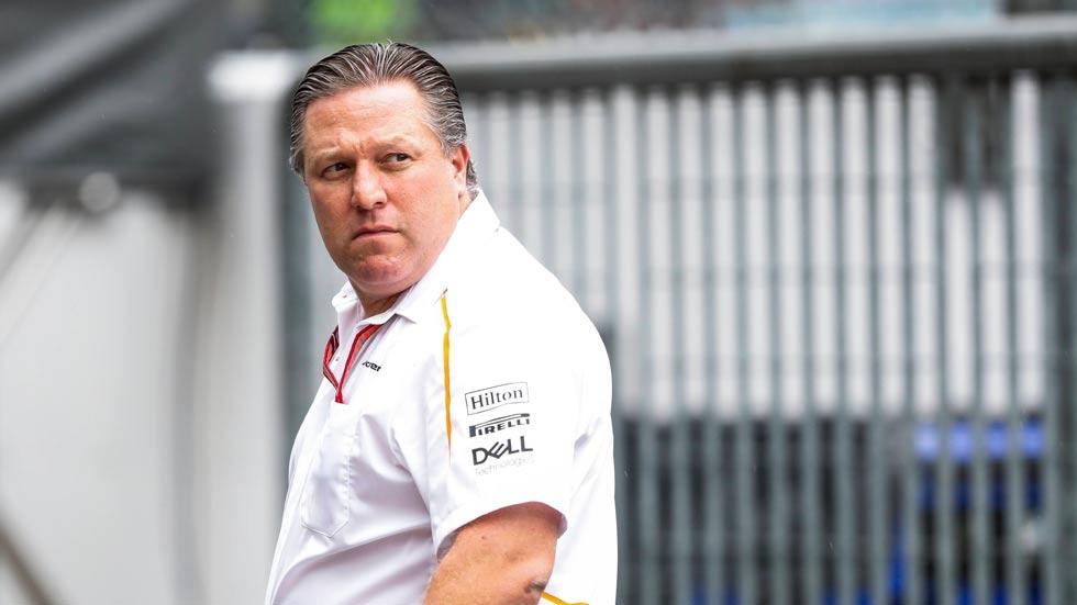 """Zak Brown lo tiene claro: """"hay algo que no funciona en la F1"""""""