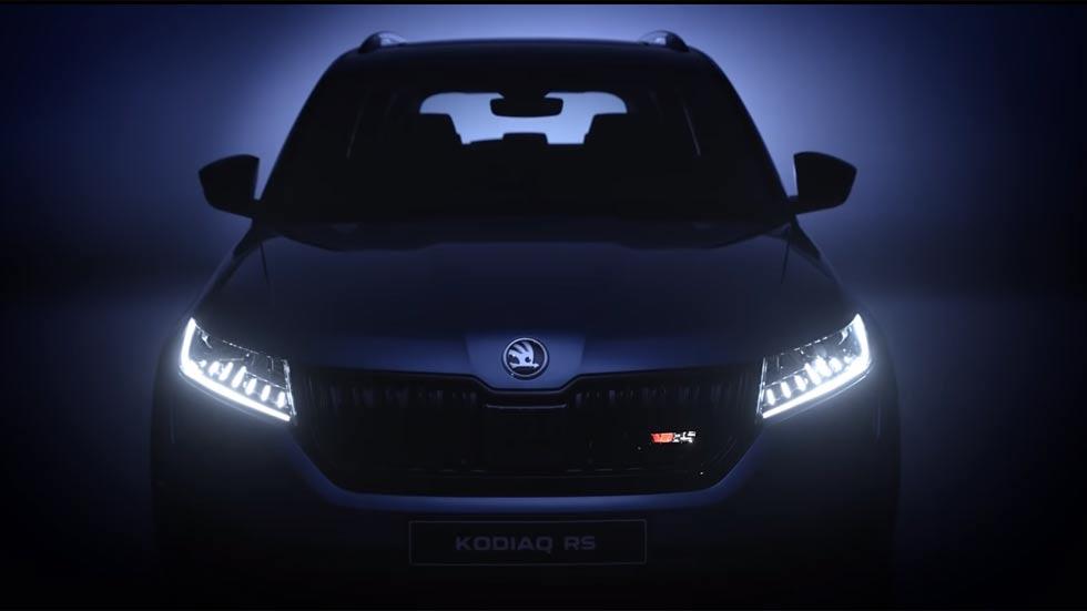 Skoda Kodiaq RS: nuevas fotos y vídeo oficial del SUV deportivo