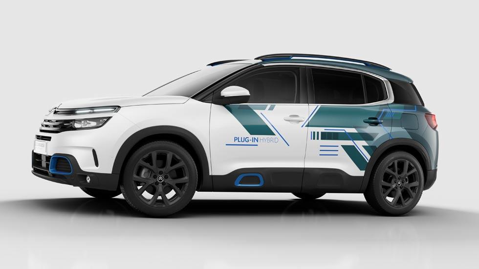 Citroën C5 Aircross Hybrid Concept: nuevo SUV híbrido para 2020