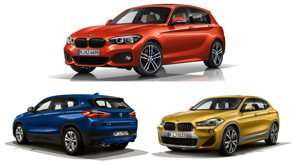 BMW Serie 1, X1 y X2 2019: nuevos motores y acabados