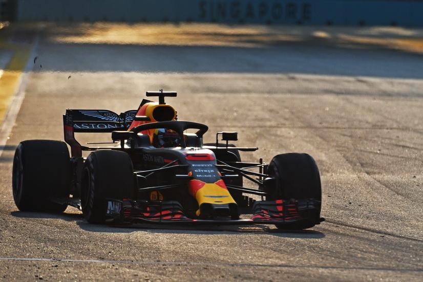 GP de Singapur (FP1): los Red Bull por delante del resto