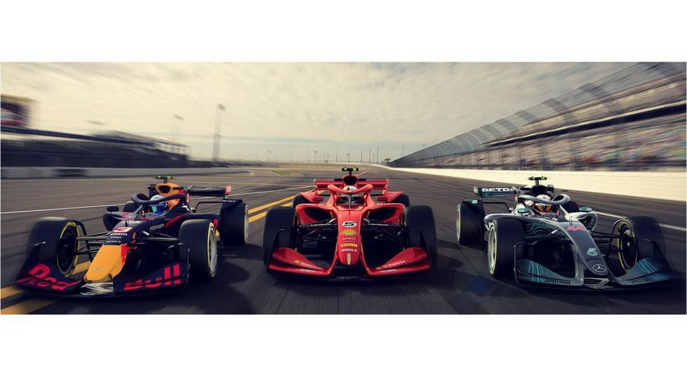La F1 muestra cómo podrán ser los monoplazas de F1 de 2021