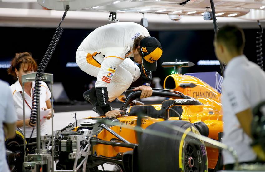 """GP de Singapur: """"un viernes positivo"""" para Fernando Alonso"""