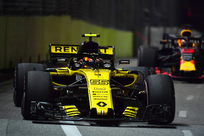 """GP de Singapur: el """"mejor viernes"""" de Sainz esta temporada"""