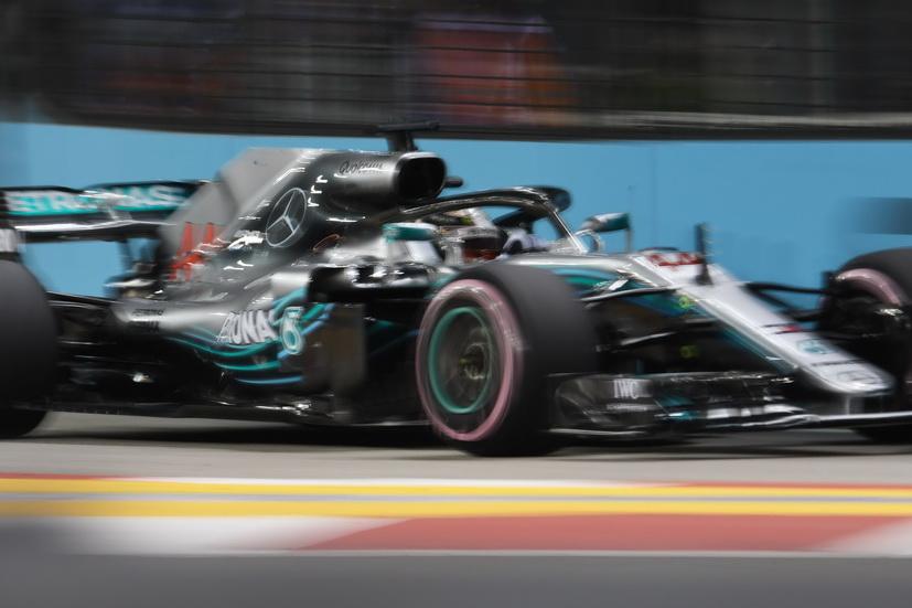 GP de Singapur: victoria de Hamilton , Alonso 7º y Sainz 8º