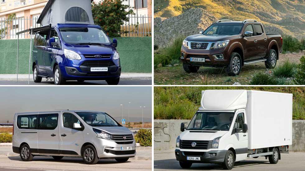 Las furgonetas más vendidas en España
