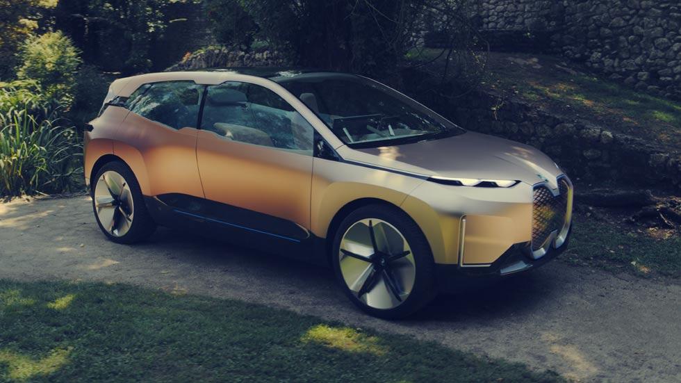BMW Vision iNEXT: el futuro SUV eléctrico y autónomo