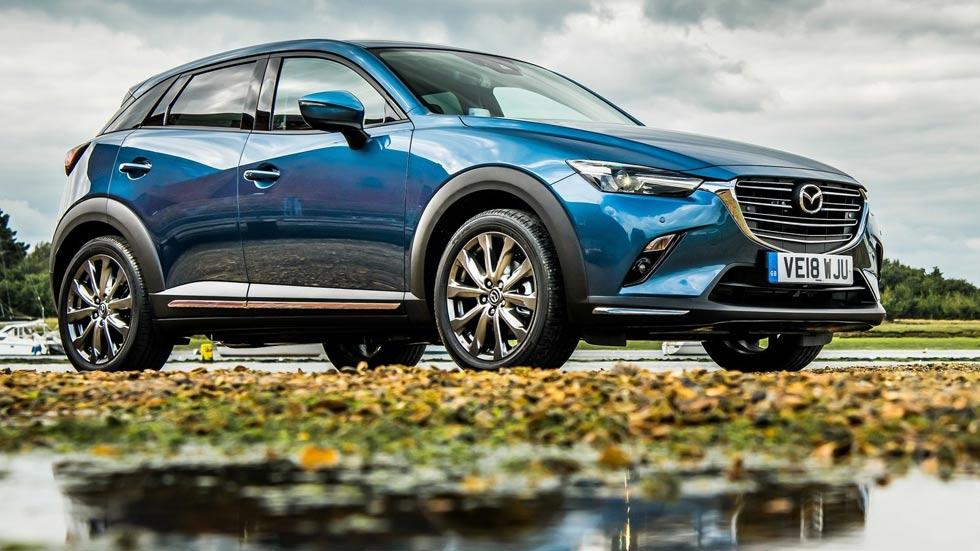 Mazda CX-3 2020: el nuevo SUV, más grande y con base del Mazda3