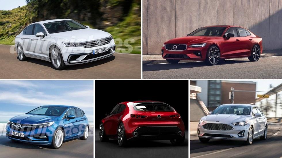 Los grandes ausentes del Salón de París 2018: Astra, Passat, Mazda3, Mondeo, Clio…