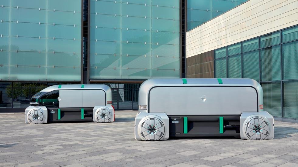 Renault EZ-Pro: así será el reparto de mercancías del futuro