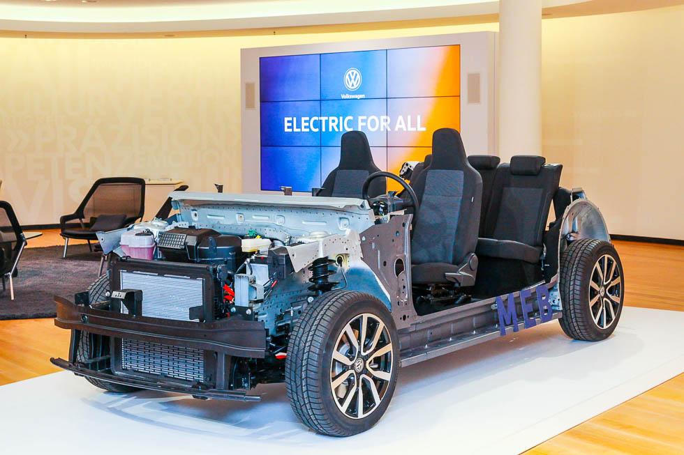 MEB: en 2020, el Volkswagen I.D. eléctrico con 550 km de autonomía