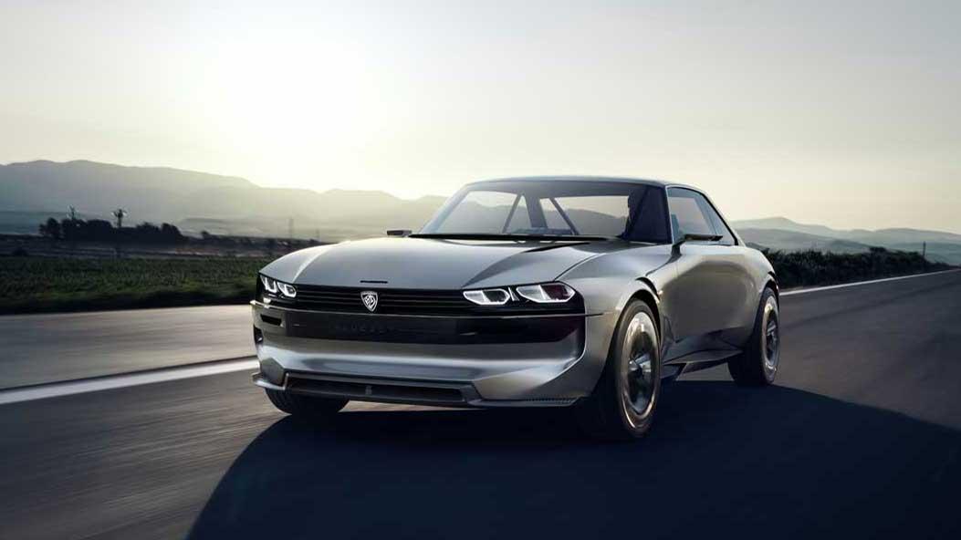 Peugeot e-Legend Concept, placer de conducción deportivo y autónomo