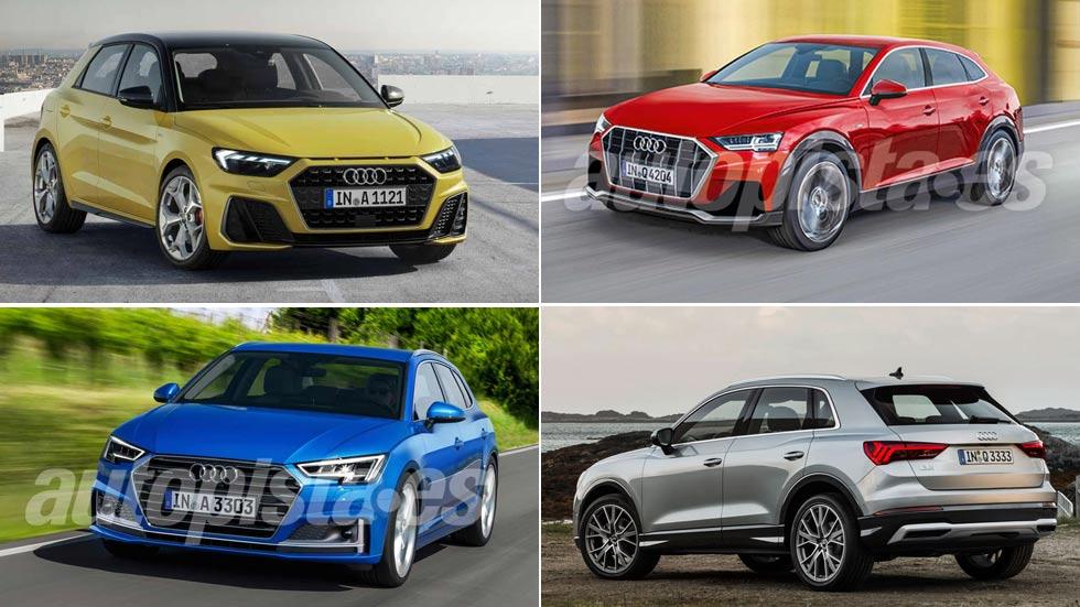 Todo lo nuevo de Audi hasta 2024: A1, Q3, A3, e-tron, Q4, Aicon…