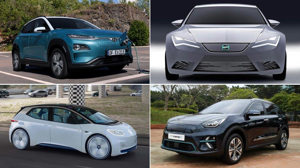 Estos son los nuevos coches eléctricos y populares con 500 km de autonomía