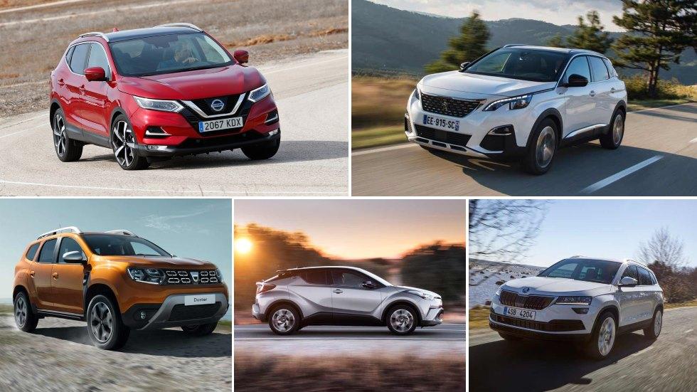 El mejor SUV compacto, en cifras reales: Ateca, 3008, Qashqai, Duster, C-HR…