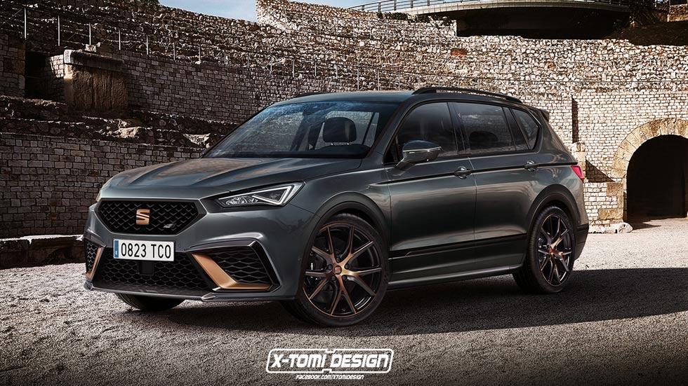 ¿Cupra Tarraco? El nuevo SUV de Seat podría tener su versión deportiva