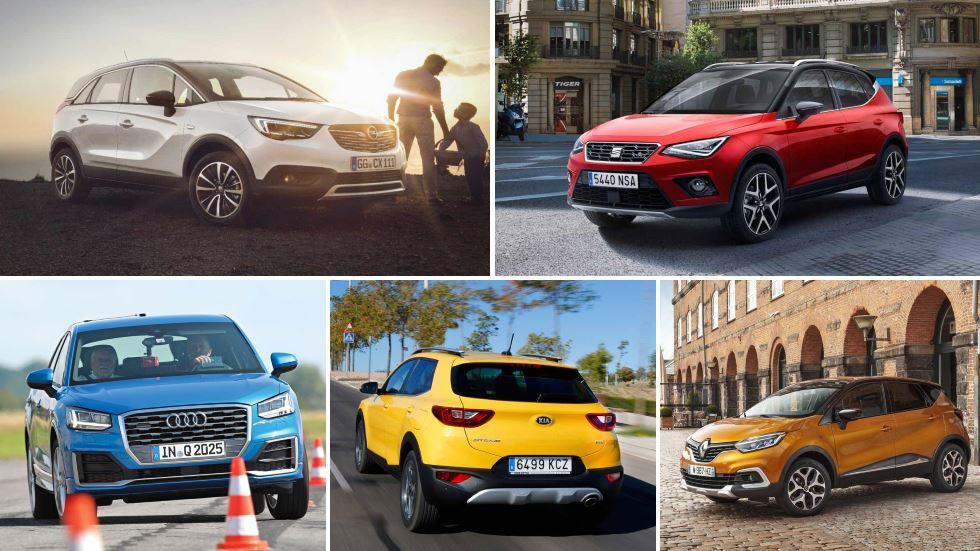El mejor SUV utilitario, en datos reales: Arona, Captur, 2008, Juke, Mokka X...