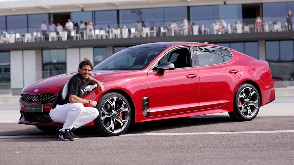Kia Stinger GT y Rafa Nadal: pulsaciones deportivas (VÍDEO)