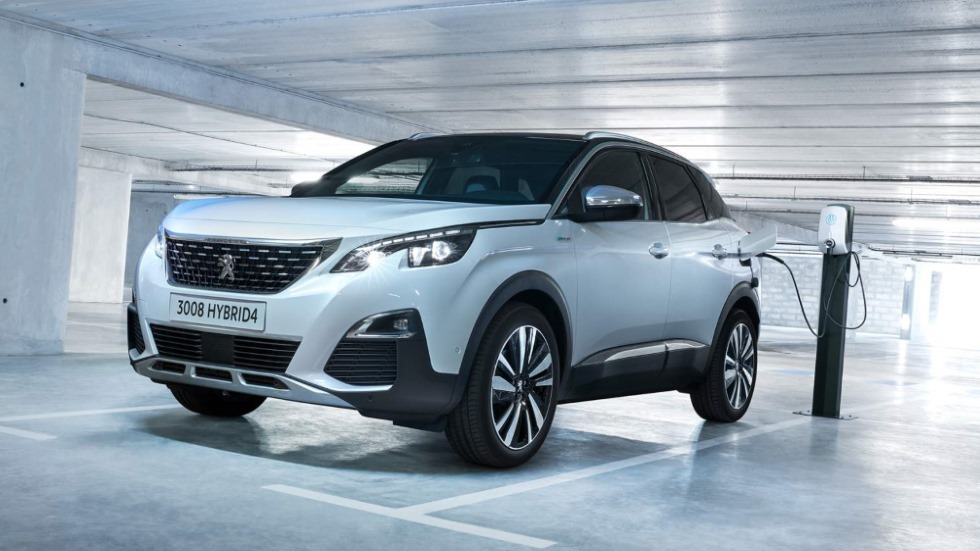 Peugeot 3008 Hybrid e Hybrid4 2019: así son los SUV híbridos enchufables