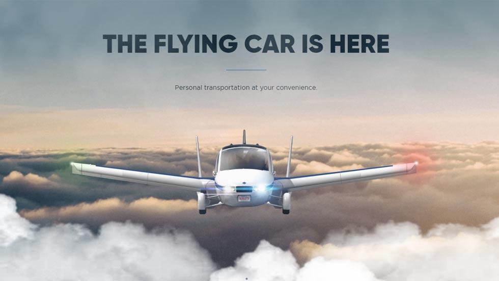 El primer coche volador del mundo, a la venta en octubre