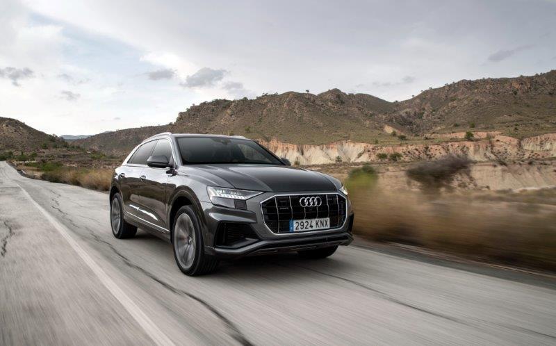 Audi Q8: el nuevo gran SUV, con Etiqueta ECO