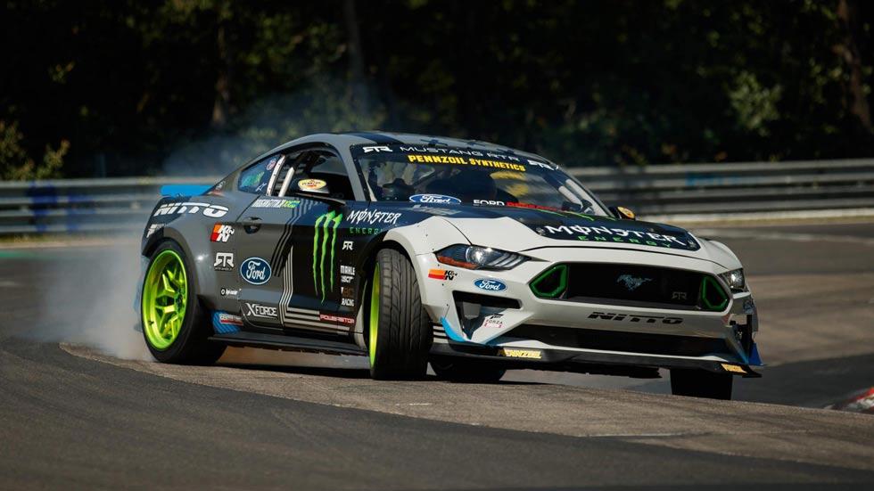 Ford Mustang RTR: el primer coche que completa Nürburgring haciendo drift (VÍDEO)